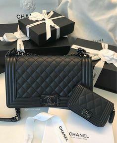Black Chanel Bags