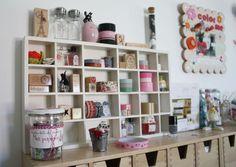 Coté scraproom : la suite 2 idées de rangements dans mon atelier scrap - Mon petit monde de papier