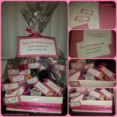 40th birthday gift basket ideas the receiver thought these were birthday gift basket idea from solutioingenieria Images