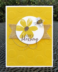 Krystal's Cards: From My Heart - FMH04 - Sweet Nectar Society #stampinup #krystals_cards #gardeninbloom #sweetnectarsociety #youreablessing #frommyheart