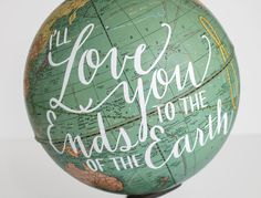 16 Map and Globe Decor Ideas | How Does She