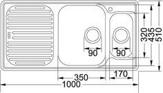 Franke Ariane ARX 611P Stainless Steel Sink goo.gl/iTaabW