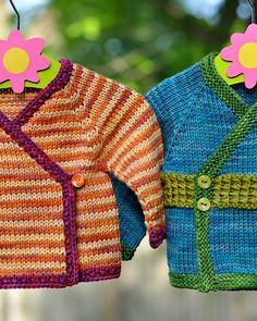 Ravelry: Seamless Kimono (Infant + Toddler Sizing) pattern by Carina Spencer