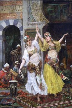 Fabio Fabbi .....Harem girls stolen from Russia or Barbery pirates stole them from other vessels.