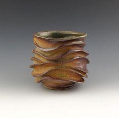Wood Fired Organic Ceramic Tea Bowl