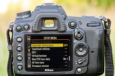 What is metadata: - adding meta data using your digital camera in 4 steps and assigning a copyright notice