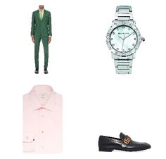 GUCCI INSPIRED GREEN SUITING