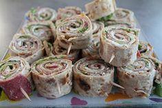 Vaniljataivas: Rieskarullat Finnish Recipes, Real Food Recipes, Healthy Recipes, Sandwich Cake, Just Eat It, Tasty, Yummy Food, Party Snacks, Kids Meals