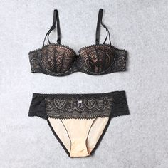 bra gel Picture - More Detailed Picture about BRESNA Girls Underwear Set Push up Thin Cotton Half Cup Lace Bra And Panty Set Women Lingerie Big Size Bras 85D 85E Black Green Picture in Bra & Brief Sets from BRESNA Lingerie Store   Aliexpress.com   Alibaba Group