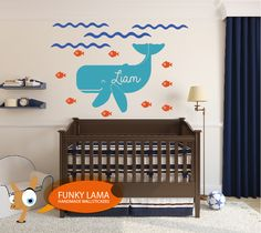wall decal underwater name  www.funky-lama.com