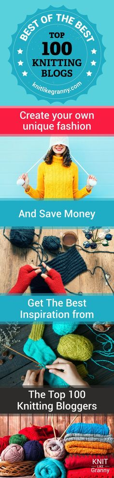 Create your own unique fashion and save money. Get your inspiration from the wonderful knitting bloggers we feature. Shawls, Sweaters, scarves, cowls, mittens, gloves plus many more fabulous designs to explore by the best knitwear pattern designers. Find out what the current season's knitting trends are and how you can incorporate them into your fashionable wardrobe. #knitting #fashion #savemoneytips