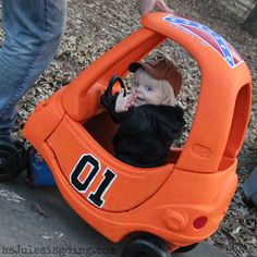 How-To make your mini Luke Duke a Mini General Lee {Thoughtful Thursday} | as Jules is going