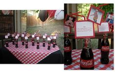 coca cola memory table