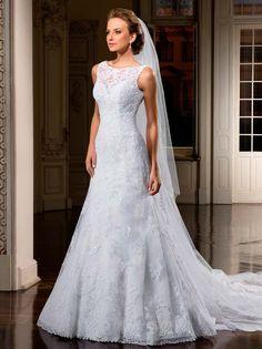 vestido de noiva semi sereia com renda - Pesquisa Google