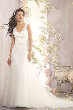 Victoria wedding dress by Alfred Angelo Bridal www.adorebrides.co.uk