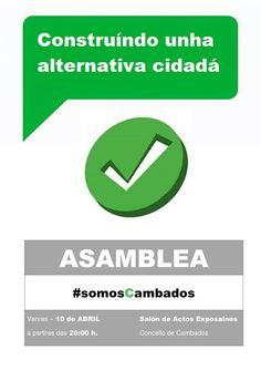 CORES DE CAMBADOS: NOVA ASEMBLEA DE SOMOS CAMBADOS