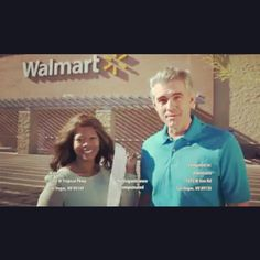 My second national Walmart commercial....
