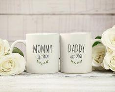 Grandma Mug, New Grandma, Grandmother Gifts, Coffee Mug Sets, Mugs Set, Personalised Name Mugs, Handmade Design, Gifts For New Dads