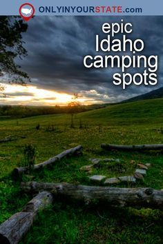 Travel | Idaho | Attractions | USA | Things To Do | Weekend Getaway | Places To Visit | Vacation | Camping | Outdoor | Adventure | Mother Nature | Summer | Idaho Campgrounds | City of Rocks | Natural Wonders | Nature | Wildlife | Mountains | State Parks | Saddleback Lakes | Boise