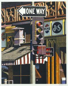 Robert Cottingham - One Way