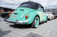 Cute Cars, Convertible, Volkswagen, Vw Bugs, Beetle, Norway, Pastel, Facebook, Instagram