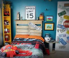 Car themed rooms kid rooms в 2019 г. car themed rooms, room themes и Car Bedroom, Bedroom Themes, Kids Bedroom, Bedroom Decor, Kids Rooms, Bedroom Ideas, Car Themed Rooms, Kids Room Organization, New Room