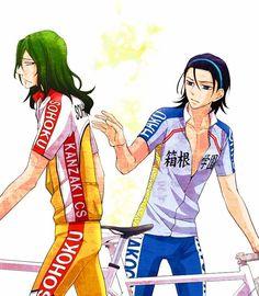 "YowaPeda ~~ ""Please don't go away mad, Maki-chan...."" ::  Toudou Jinpachi x Makishima Yuusuke"