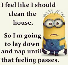 Nope not cleaning