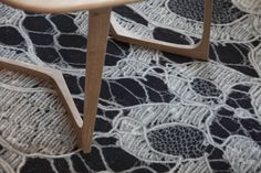 Parisian chic combined with infinite imagination and exuberance of unique textures and sensations. That is the new Hotel Chavanel in the trendy and historical Hotel Carpet, Rugs On Carpet, Carpets, Buy Carpet, Hotel Decor, Couture, Wishbone Chair, Carpet Runner, Bunt