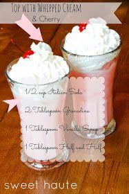 Cherry Vanilla Italian Soda Recipe... Something interesting to try.