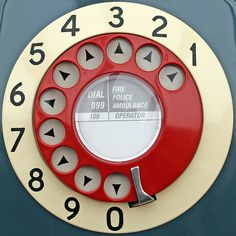 """The phone as our parents knew it. We still use the word """"dial"""" ( ! )"""