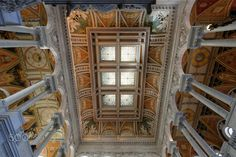 Capitol, Library of Congress, Decke, Washington, United States