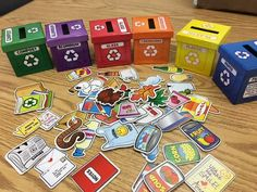 Earth Day Crafts For Kids Preschool Projects Art Activities Recycling Games, Recycling Activities For Kids, Recycling For Kids, Art Activities For Toddlers, Earth Day Activities, Preschool Activities, Toddler Art Projects, Preschool Projects, Art For Kids