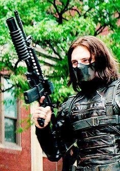 Bucky Barnes || Captain America TWS || 245px × 350px || #animated