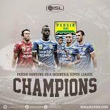 Persib Bandung Juara Indonesia Super League (ISL) 2014
