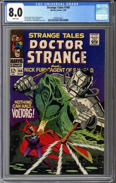 Strange Tales #16... ... it can be yours!    http://coloradocomics.com/products/strange-tales-166-cgc-8-0?utm_campaign=social_autopilot&utm_source=pin&utm_medium=pin