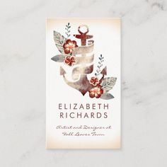LOVELYWOW studio: products on Zazzle Vintage Business Cards, Gold Business Card, Elegant Business Cards, Custom Business Cards, Business Card Size, Watercolor Business Cards, Yacht Party, Harvest Decorations, Nautical Design