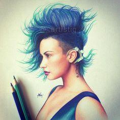 Demi Lovato-By Artistiq