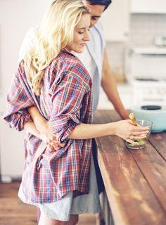 Kitchen Engagement Shoot