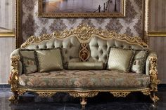 Luxury Sofa, Luxury Furniture, Home Furniture, Maria Theresa, Victorian Fashion, Sofas, Love Seat, Couch, Dining