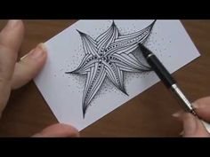 Doodling My Morning Doodle or Zentangling My Morning Zentangle OR Stretc...