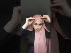 Hijab Gown, Hijab Outfit, Hijab Style Tutorial, Scarf Styles, Hijab Styles, Hijab Fashion Inspiration, Muslim Dress, Turban Style, Mode Hijab