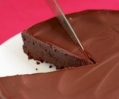 fondant-au-chocolat-sans-farine-avec-glacage-chocolat