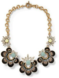 Piperlime Sabine Scalloped Flower Necklace on shopstyle.com