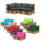 Pallet Garden Furniture Cushions Sets Water Resistant Covers Seat Wooden Sofa in Garden & Patio, Garden & Patio Furniture, Furniture Cushions Pallet Furniture Cushions, Pallet Garden Furniture, Outside Furniture, Pallet Sofa, Garden Pallet, Wooden Garden, Outdoor Furniture Sets, Cushions For Sale, Cement Patio