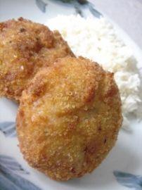 Recette Japonaise : Les croquettes à la japonaises. Cette recette est délicieuse et très populaire au Japon.