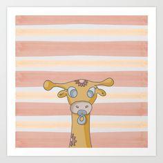 la giraffa e il girasole - $22.88