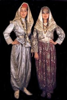 Because of the industrialization progress from 1960, Turks, as well as everybody from all over the world, swapped their traditional clothes ... Empire Ottoman, Traditional Fashion, Traditional Wedding, Traditional Outfits, Turkish Style, Turkish Fashion, Ankara, Turkish Wedding Dress, Culture Clothing