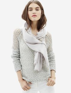 Soft Woven Blanket Scarf - Style meets comfort when you wrap yourself up in this soft, oversized scarf!