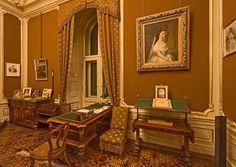 Scrivania di Francesco Giuseppe - http://www.schoenbrunn.at/it/informazioni-interessanti/castello-di-schoenbrunn/visita-del-castello/lo-studio-dellimperatore-francesco-giuseppe.html